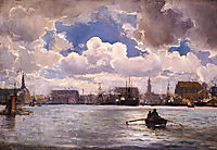 The Port of Copenhagen, 1874, altamouras