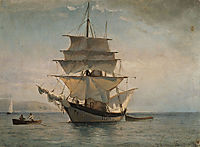 Boat to Spetses, 1877, altamouras