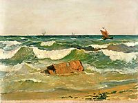 Coast with Waves, altamouras