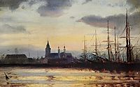 Evening in the Harbour, altamouras