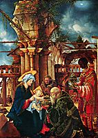 The Adoration of the Magi, 1535, altdorfer