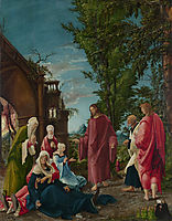 Christ taking Leave of his Mother, 1520, altdorfer