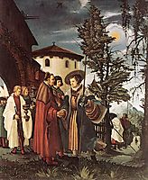 The Departure of Saint Florain, c.1530, altdorfer