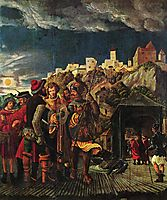 Florian result, scenes for legend of St. Florian, 1518, altdorfer