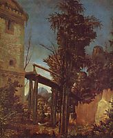 Landscape with a Footbridge, altdorfer