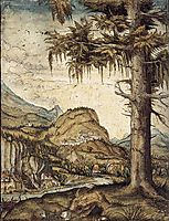 The Large Spruce, 1522, altdorfer
