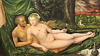 Lot and his daughter, 1537, altdorfer