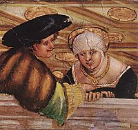 Lovers, c.1530, altdorfer