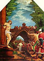 Martyrdom of St. Sebastian, 1516, altdorfer