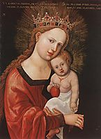 Mary with the Child, 1525, altdorfer