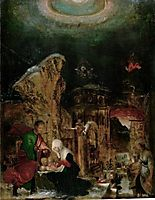 Nativity, 1525, altdorfer