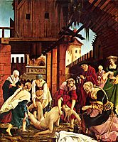 Recover the body of St. Sebastian, 1516, altdorfer
