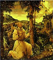 The Stigmatization of St. Francis, altdorfer