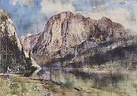 Altausseersee with Trisselwand, 1839, altrudolf
