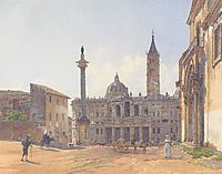 The Basilica of Santa Maria Maggiore in Rome, 1837, altrudolf