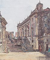 The Capitol in Rome, 1835, altrudolf