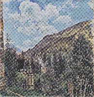 The cemetery in Gastein, 1898, altrudolf