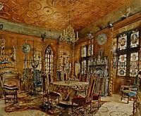 Interieur of castleIn Renaissance Style, altrudolf