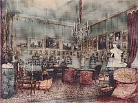 Interior in Palace Windischgratz in the race in Vienna, 1848, altrudolf