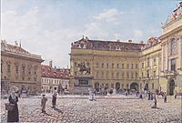 The Josef square in Vienna, 1831, altrudolf