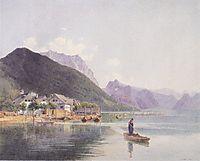 Lake Traun, 1840, altrudolf