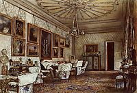 Salon in the Apartment of Count Lanckoroński in Vienna, 1881, altrudolf