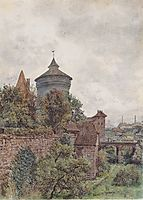 The Spittler in Nuremberg, 1856, altrudolf