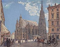 The St. Stephen-s Cathedral in Vienna, c.1831, altrudolf