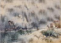 Storm on Lake Garda, 1839, altrudolf