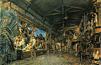 The studio before the auction, 1855, altrudolf