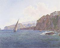 Torquato Tassos Vaterhaus in Sorrent bei Neapel, 1836, altrudolf