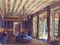 The Turkish Salon, Villa Hügel, Hietzing, Vienna, 1877, altrudolf