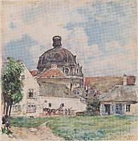 View of Klosterneuburg, 1890, altrudolf