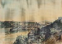 View of Passau, 1864, altrudolf