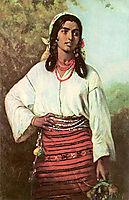 Gipsy Girl, 1884, aman