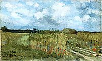 Flowering field , 1879, andreescu