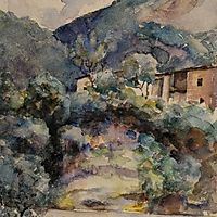 Mountain landscape, andreescu