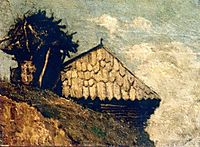 Peasant hut, andreescu