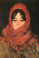 The Red Scarf, andreescu