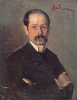 Self Portrait, 1882, andreescu