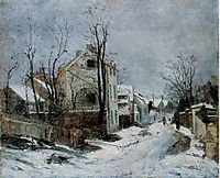 Winter at Barbizon, andreescu
