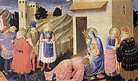 Adoration of the Magi, 1434, angelico