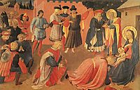 Adoration of the Magi, c.1433, angelico