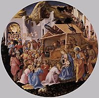 Adoration of the Magi, c.1445, angelico