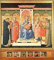 Annalena Altarpiece , c.1435, angelico
