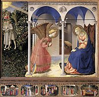 Annunciation, 1432, angelico