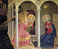 Annunciation, 1434, angelico