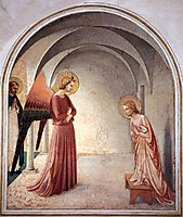 Annunciation, 1442, angelico