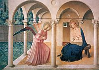 Annunciation, 1443, angelico