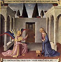 Annunciation, 1452, angelico